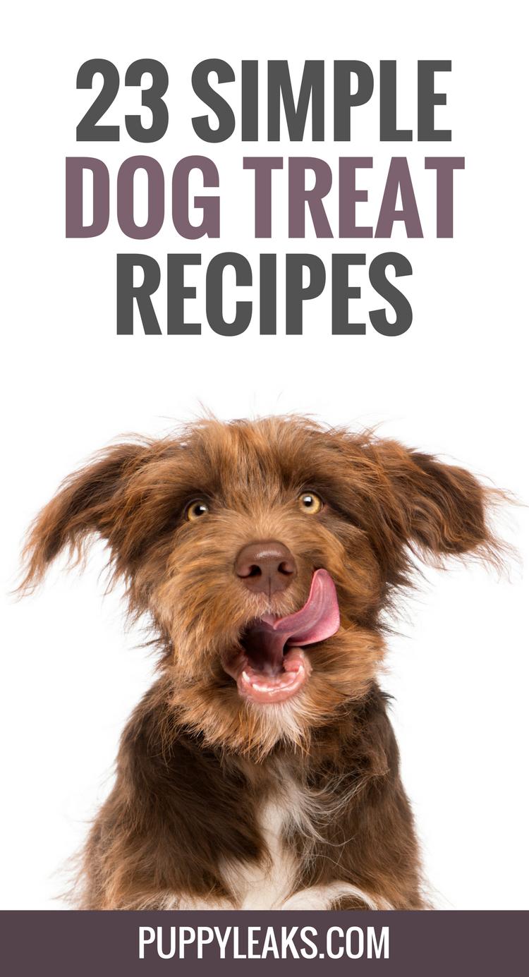 23 Simple Dog Treat Recipes