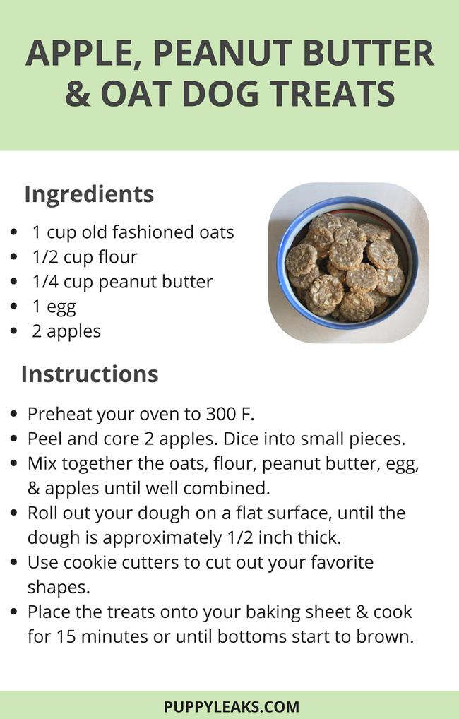 Apple Dog Treats Recipe
